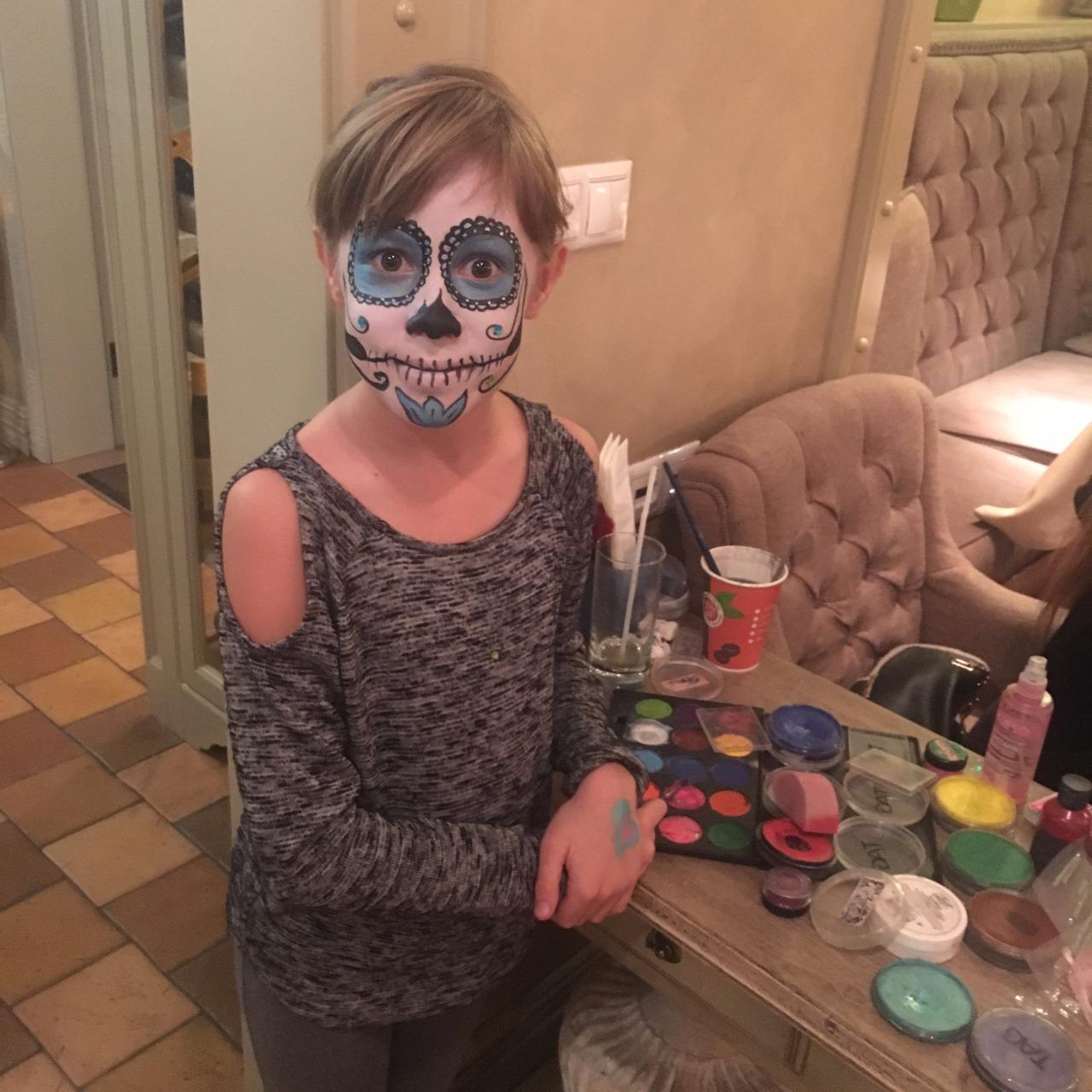 Хеллоуин в ресторане Тесто