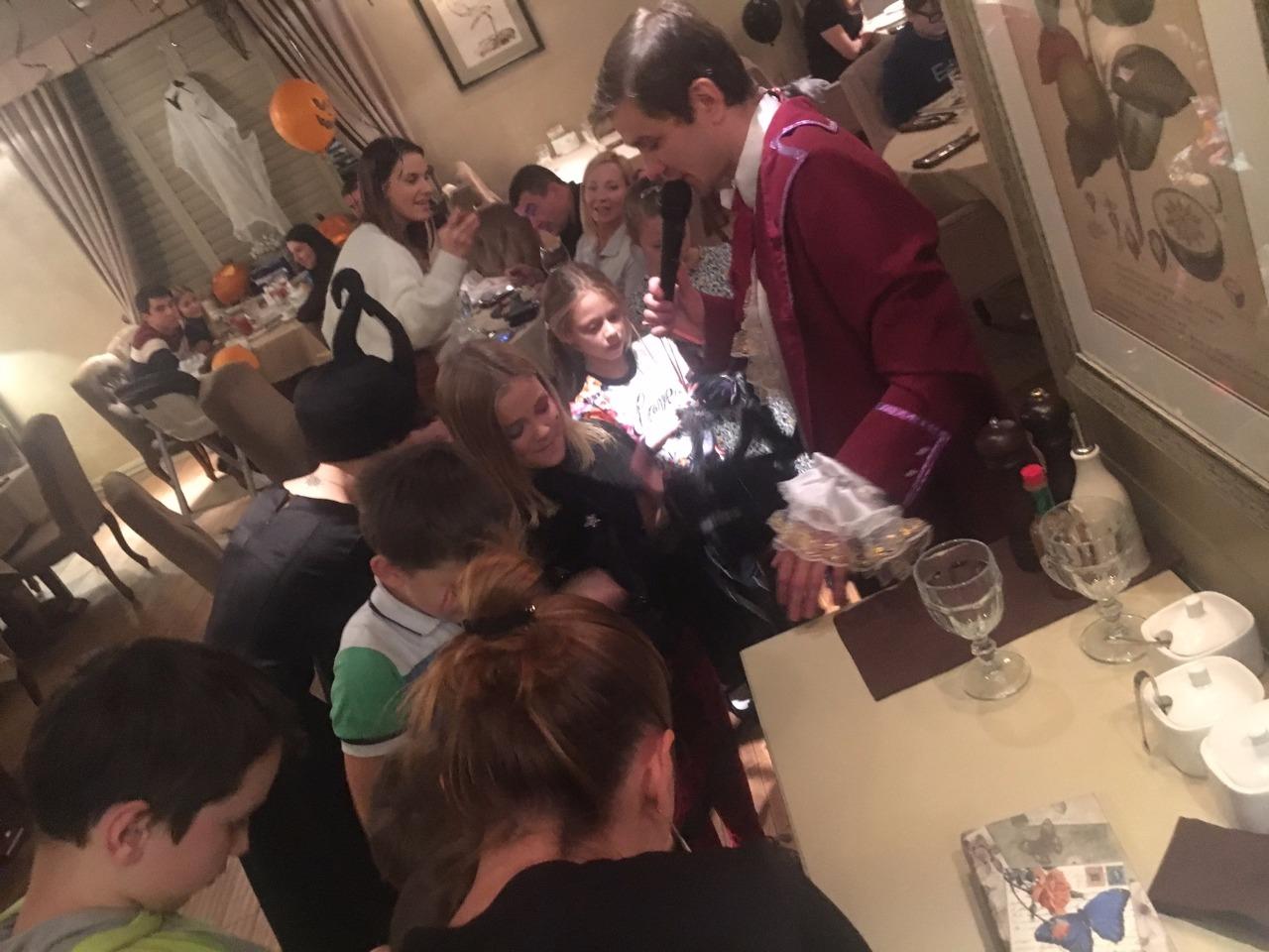 Отчет о праздновании Хэллоуина - 2016 в ресторане Тесто